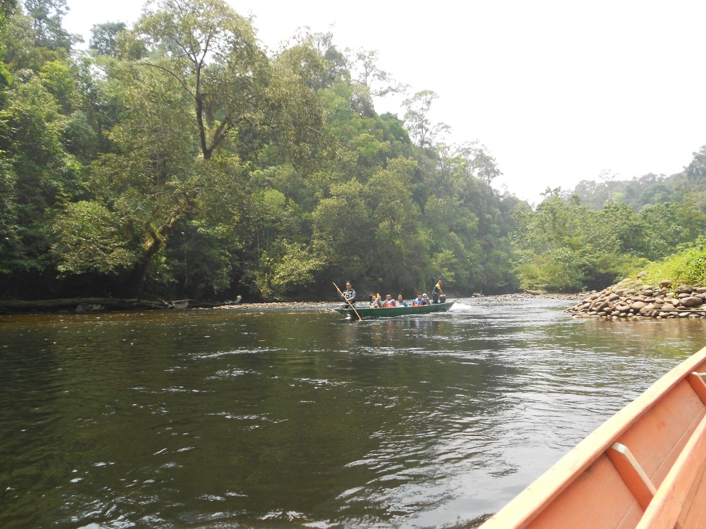 We passed a few other long boats but for the most part we felt like we were alone on the river.