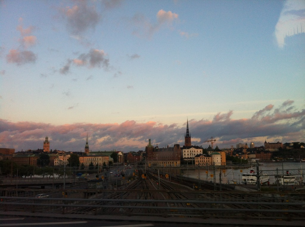 First view of stockholm