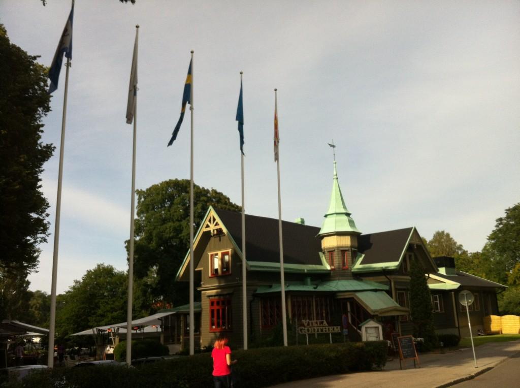 Villa Godthem The restaurant/café was right near the exit of Skansen.