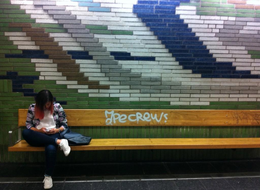 Artsy subway