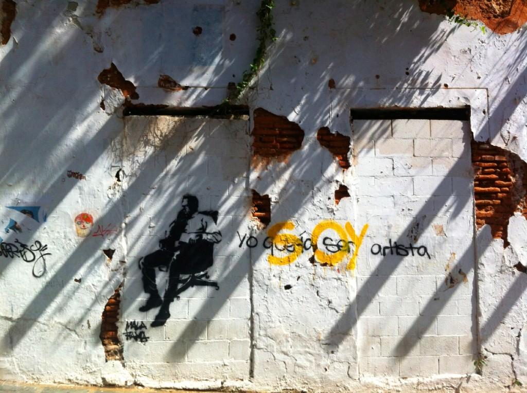 Cool graffiti.