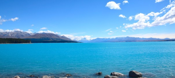 New Zealand Lake Pukaki Header