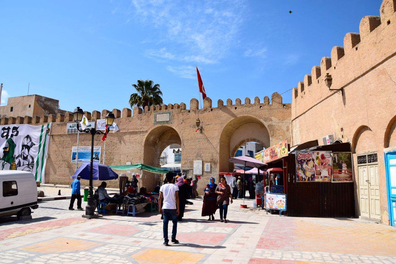 Kairouan Medina Entrance World Adventurer